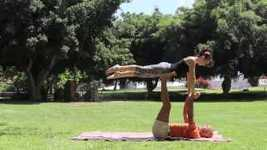 Picture of AcroYoga - Basic Transitions