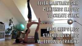 Picture of AcroYoga Basics: Inversions (Thighstand, Shoulderstand, & Star)