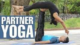 Picture of PARTNER YOGA POSES FOR BEGINNERS