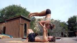 Picture of Intermediate AcroYoga Lesson #1 with Jason and Chelsey of YogaSlackers